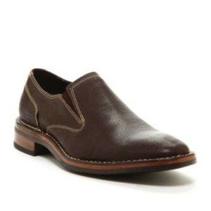 COLE HAAN Chestnut Canton Leather Chestnut Loafers